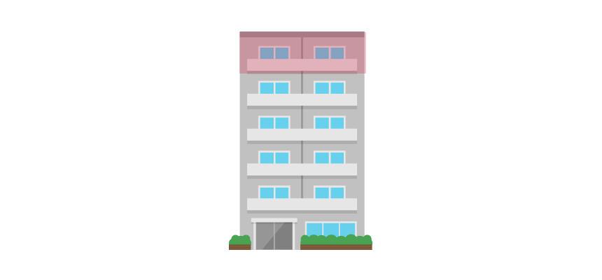 マンションの最上階住戸
