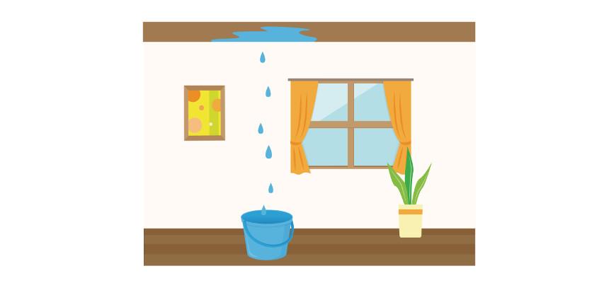 戸建住宅の雨漏り