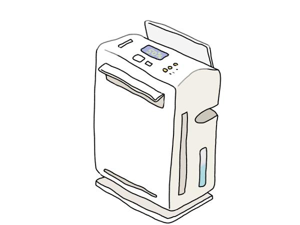 空気清浄機の活用