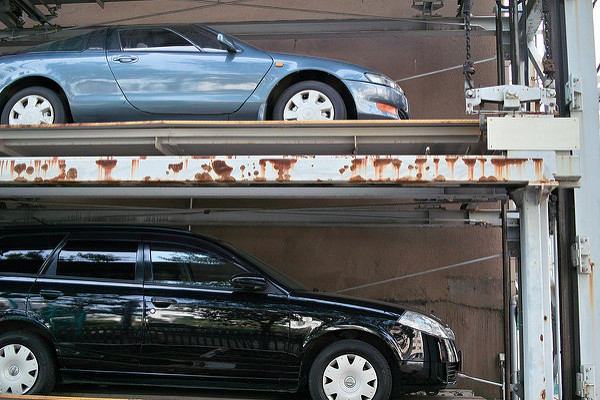 機械式駐車場の維持管理