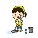 フローリングのお掃除