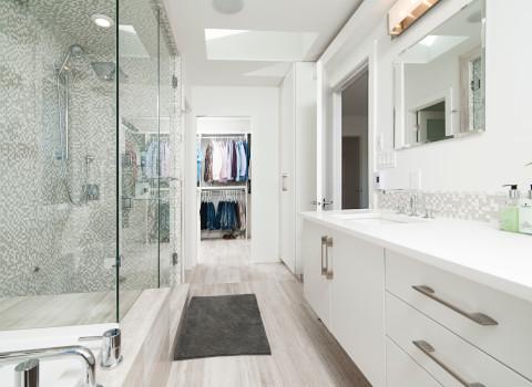 洗面所の床の色