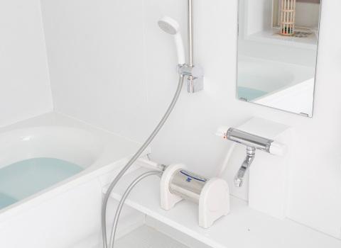 お風呂用の浄水器