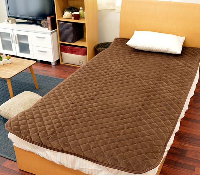 敷き毛布の活用