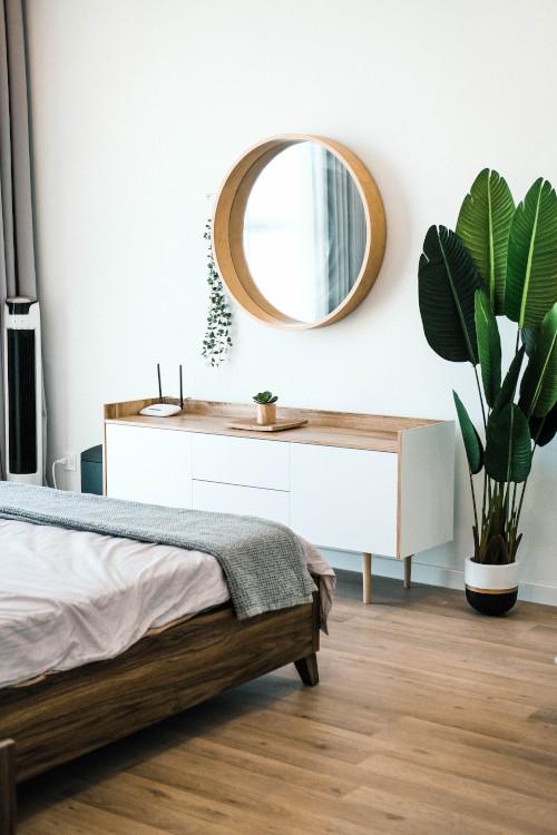 寝室の扉位置とベッドとの関係性